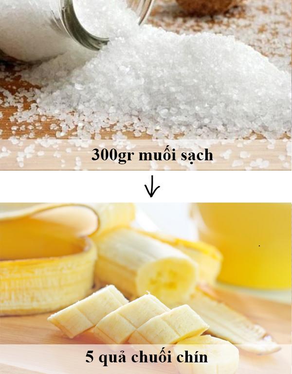 """Cách tắm trắng hiệu quả bằng muối biển và chuối đơn giản, """"cực"""" tiết kiệm"""