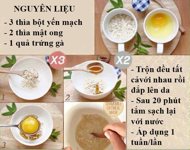 Lòng trắng trứng là thực phẩm làm trắng da rất hiệu quả