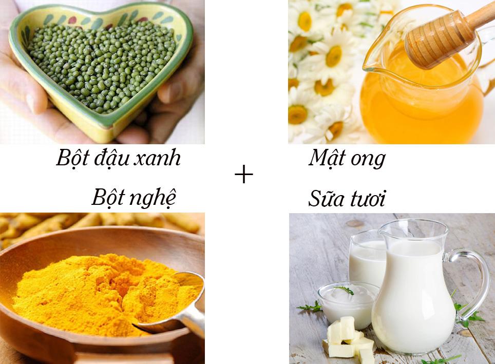 cách làm bột đậu xanh đắp mặt