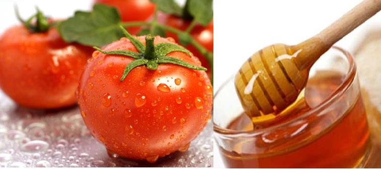 Mặt nạ cà chua, mật ong dưỡng trắng da