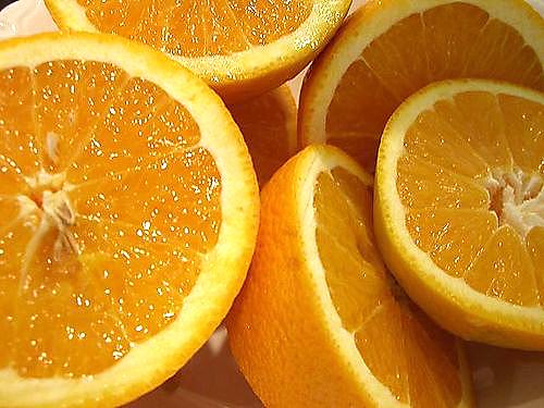 Mặt nạ dưỡng trắng da từ hạt cam